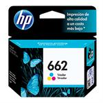 CARTUCHO HP 662 COLOR CZ104AB 2 ML*
