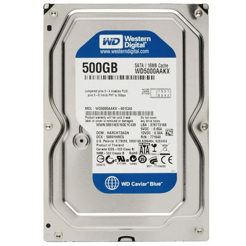 HD 500GB WD BLUE 7200RPM SATA3 WD5000AAKX