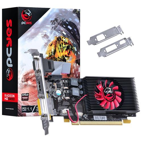 PLACA VIDEO 1GB PCYES RADEON HD 5450 64BTS